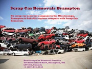 Scrap Car Removals Brampton